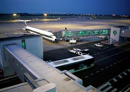Parcheggio aeroporto di Bari