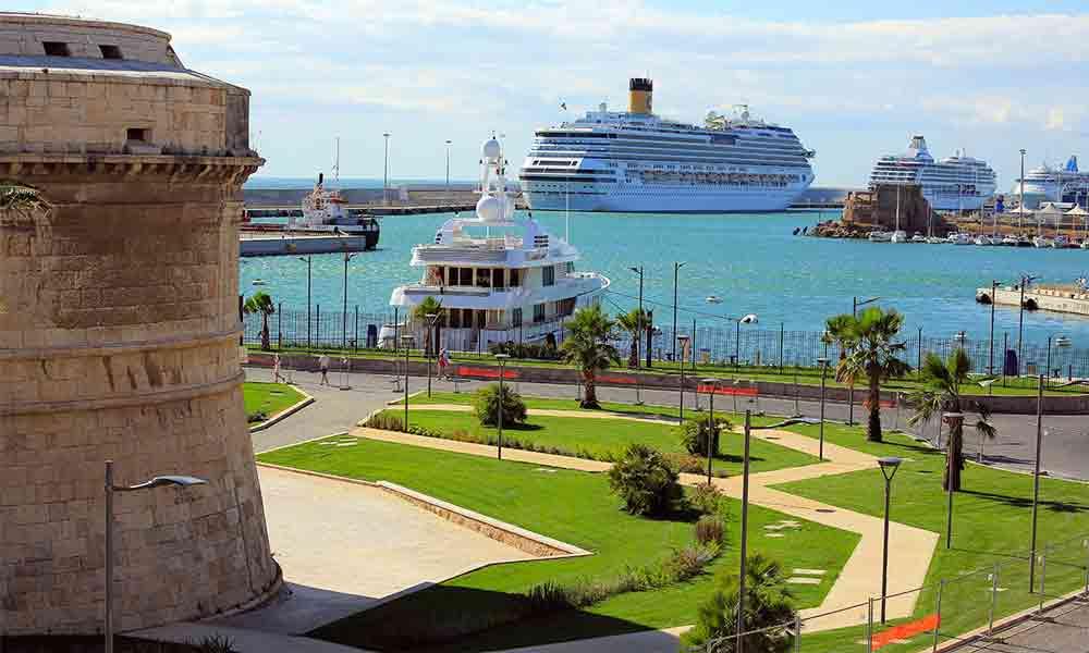 Parcheggio porto Civitavecchia