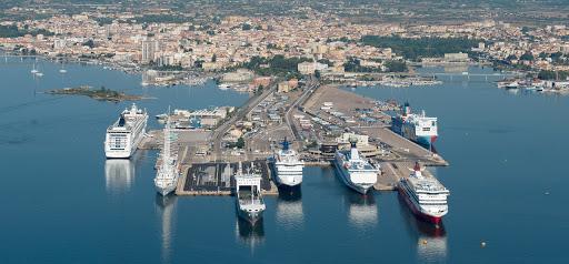 Parcheggio porto di Olbia