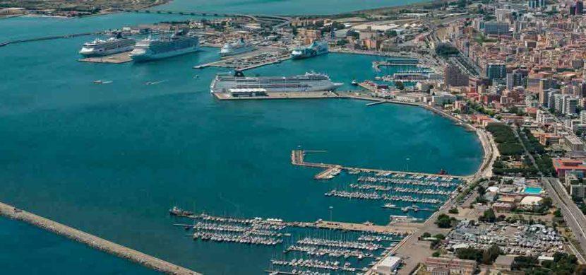 Parcheggio porto di Cagliari