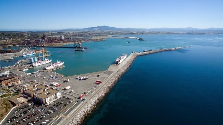 Parcheggio porto di Piombino